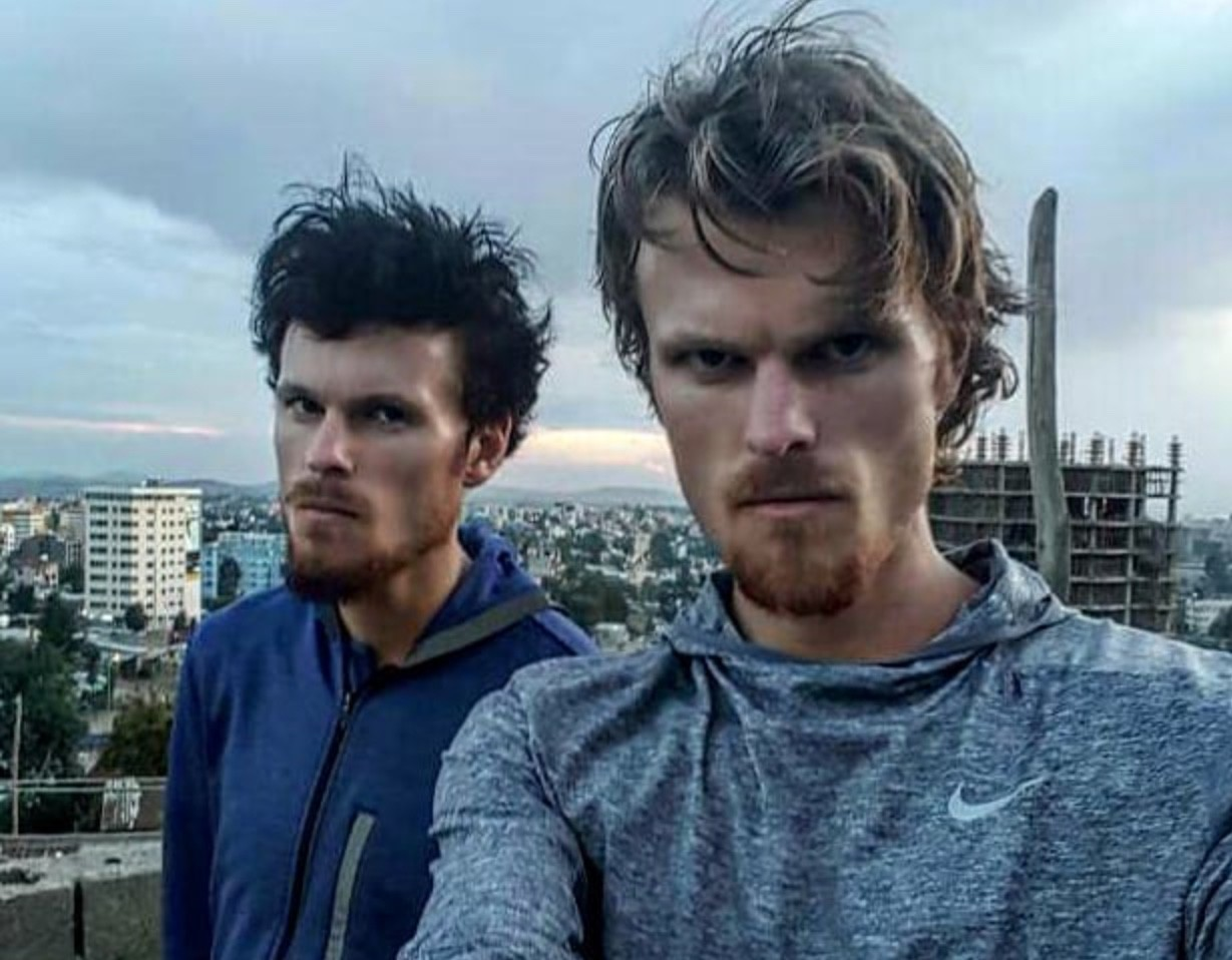 Jake and Zane Robertson are the world's Fastest Twins in the Half Marathon