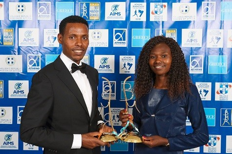 World Champions Lelisa Desisa and Ruth Chepngetich named Marathon Runners of the Year by the AIMS