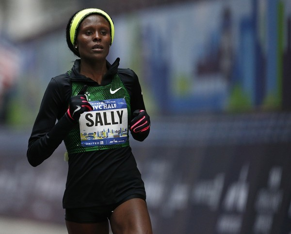 2012 Olympic 10,000m silver medalist Sally Kipyego, will be running her first marathon  as an American at Boston