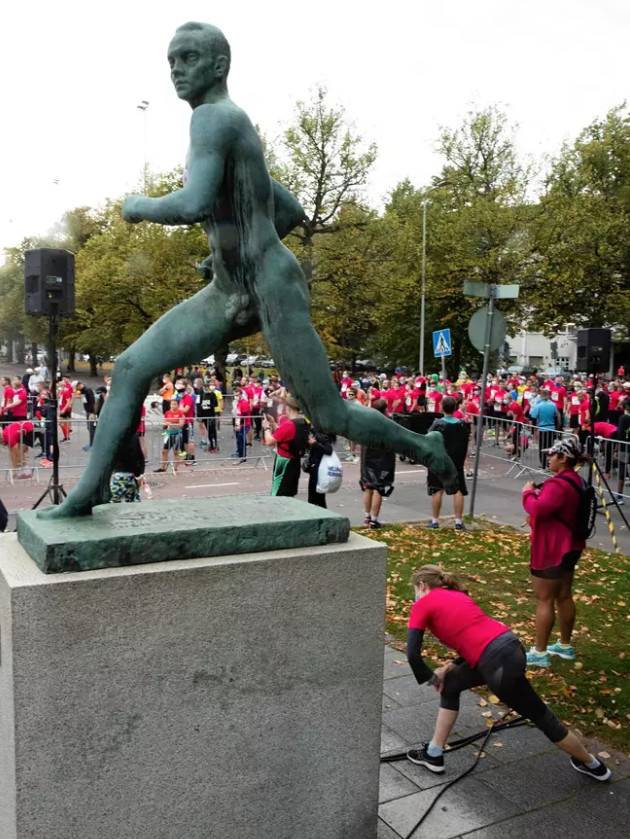 Running  enthusiasts filled the streets of Helsinki with the Helsinki City Running Day half marathon