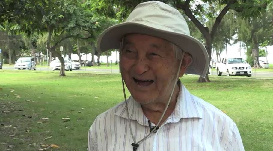 Jerry Ogata, 93-year-old, proves that never is too old to run