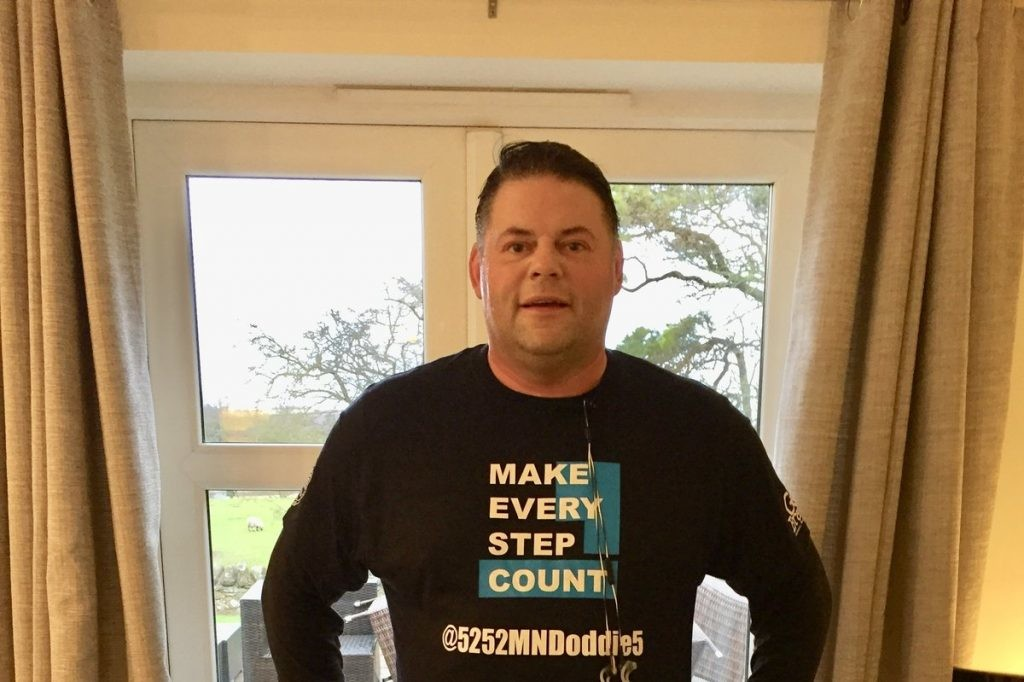 Phil Takes On Marathon Challenge For Doddie Foundation