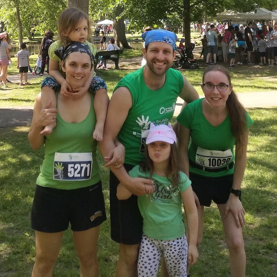 Lena Faust with cerebral palsy will be running the Oasis Rock 'N' Roll Montreal Marathon this Sunday