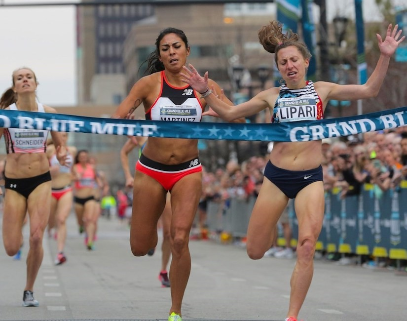 Emily Lipari is returning to defend her U.S. title at Grand Blue Mile in Des Moines