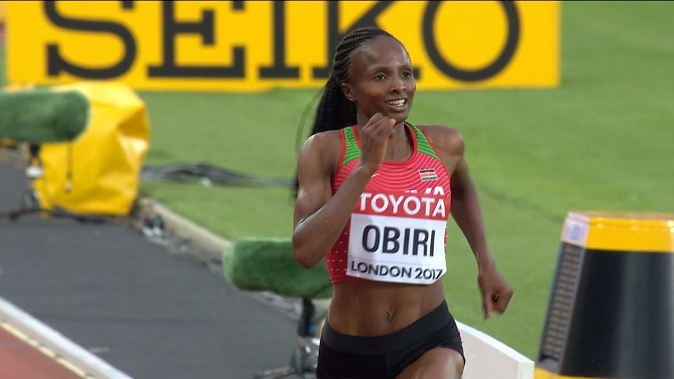 Hellen Obiri is having the season of her life and seemingly nothing will stop her attempt of lighting up the World in Doha
