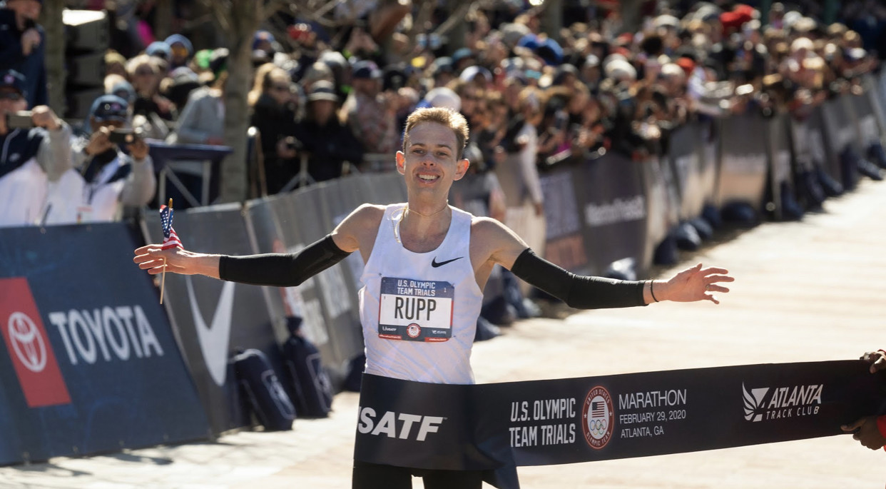 Galen Rupp and Suguru Osako are aiming for a fast half marathon on Friday near Eugene