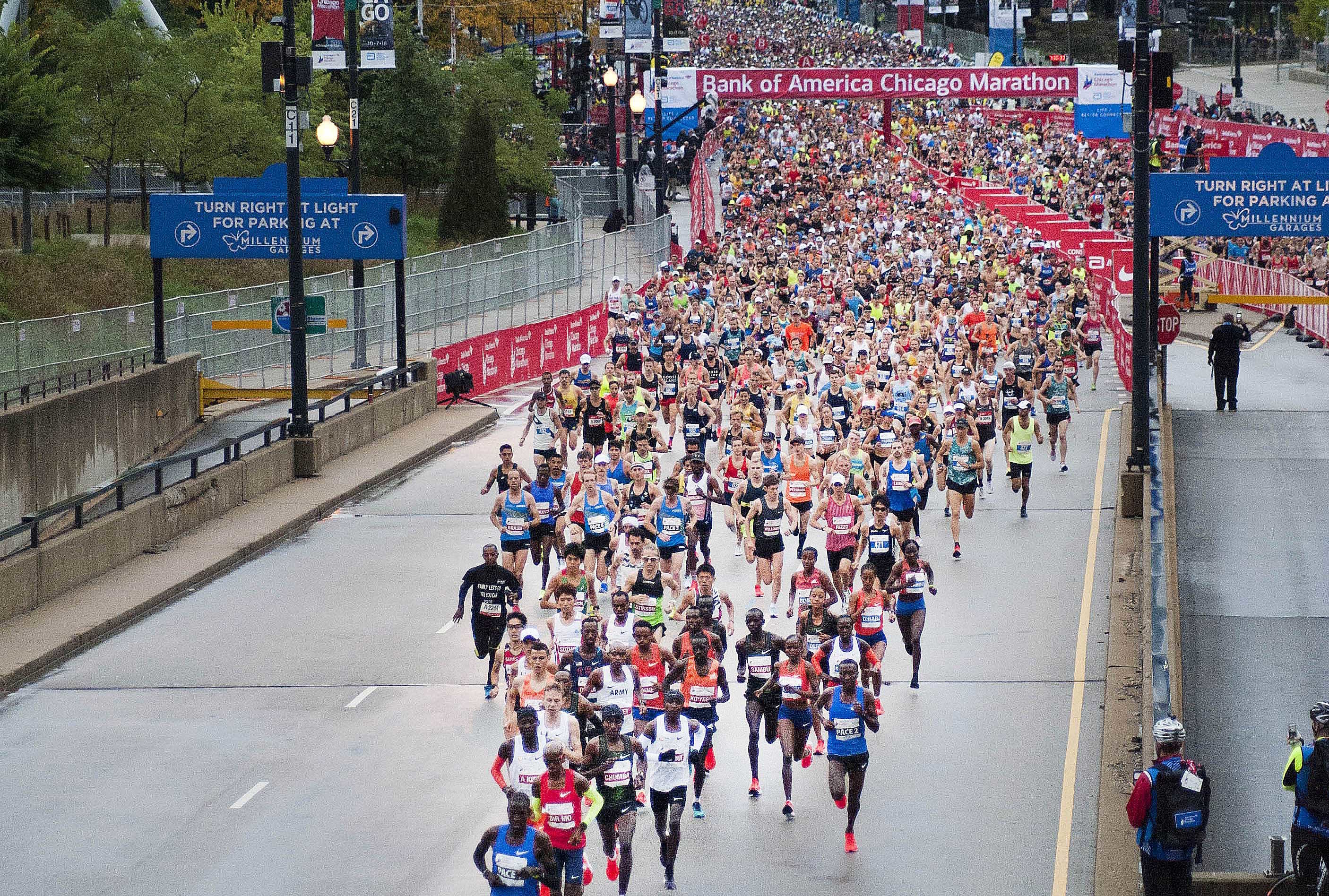 Strong field of American runners will join previously announced superstars Galen Rupp and Jordan Hasay at the Chicago Marathon on October 13