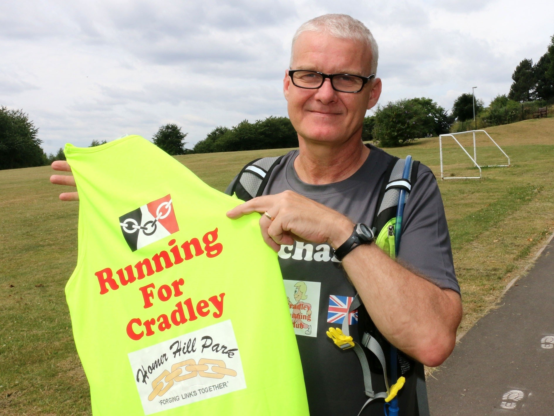 Richard Body only took up running in August 2016 and already is running a 53 mile Ultra