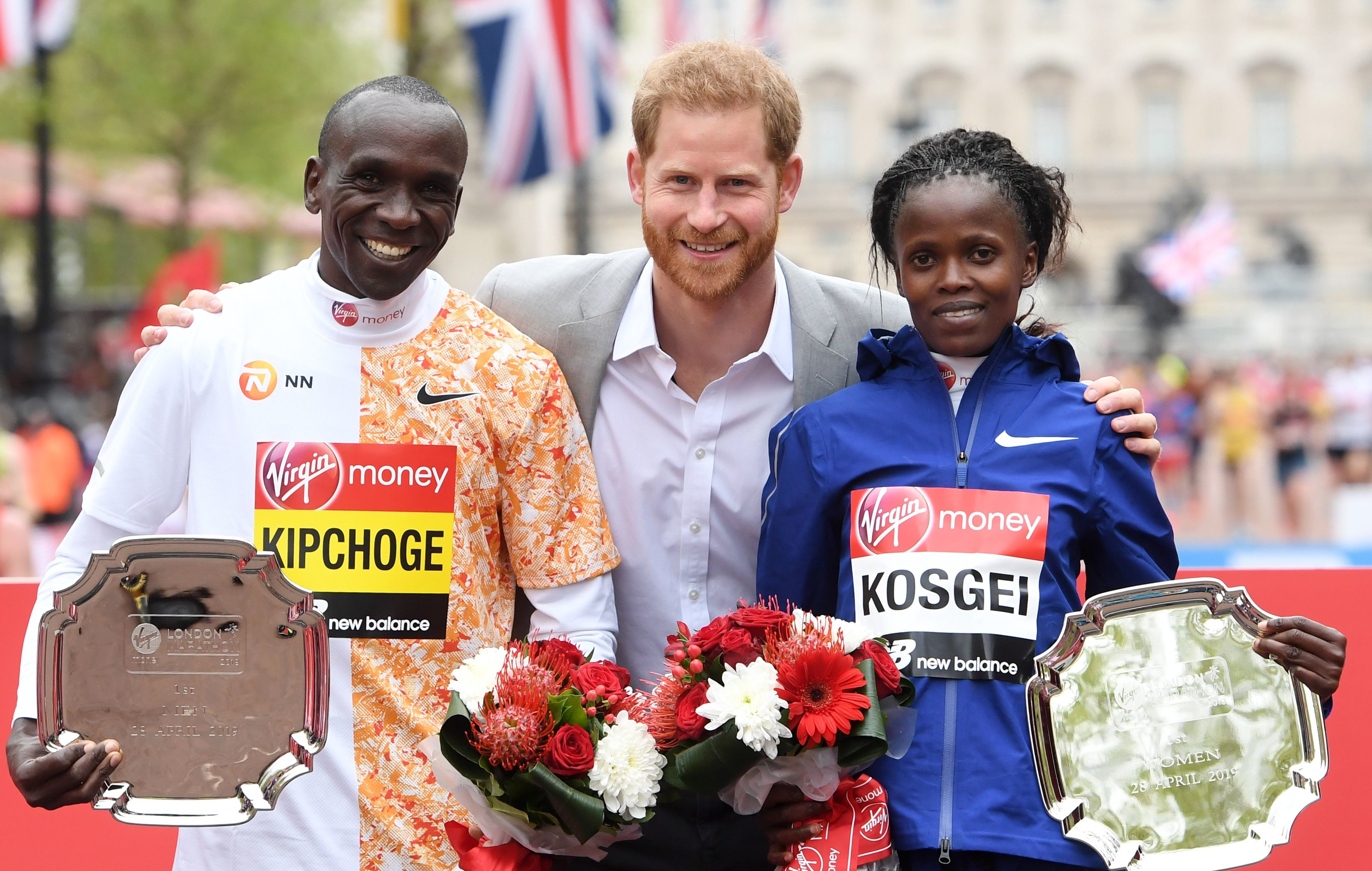 London Marathon winner Brigid Kosgei says she does not know what is next for her at the moment