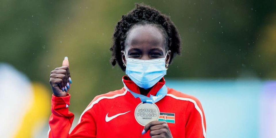 Kenya's Peres Jepchirchir says that her next target is the Valencia Marathon