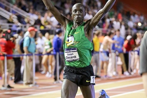 Edward Cheserek Runs the Second Fastest Indoor Mile in History