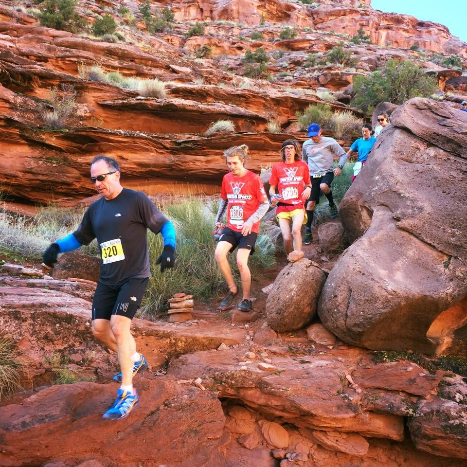 "Trail Runner Magazine says Moab Trail Marathon is one of their top Ten ""bucket list"" races"