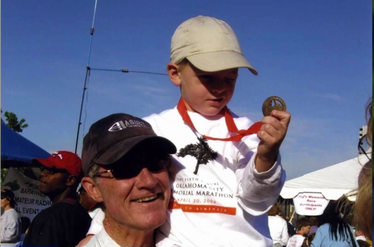 A grandpa and grandson are running the Oklahoma Marathon for the 14th time