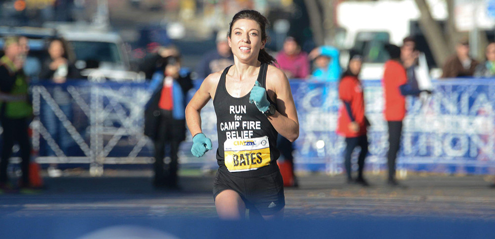Emma Bates Won the California International Marathon in her debut