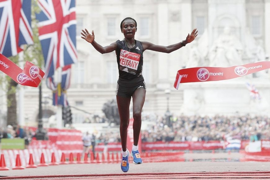 Three-time London Marathon champion Mary Keitany Predicts Winner of the London Marathon