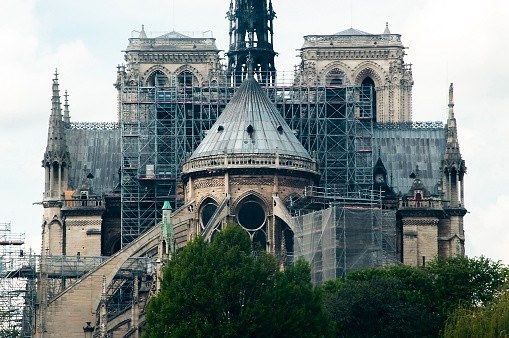 The International Olympic Committee plans to donate $752,000 to help restore the Notre Dame Cathedral ahead of 2024 Olympics in Paris