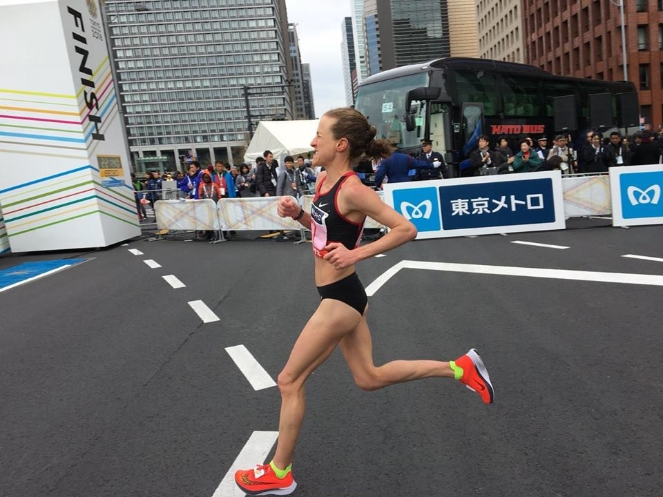 Months of work, time, sacrifice and determination paid off for Amy in Tokyo