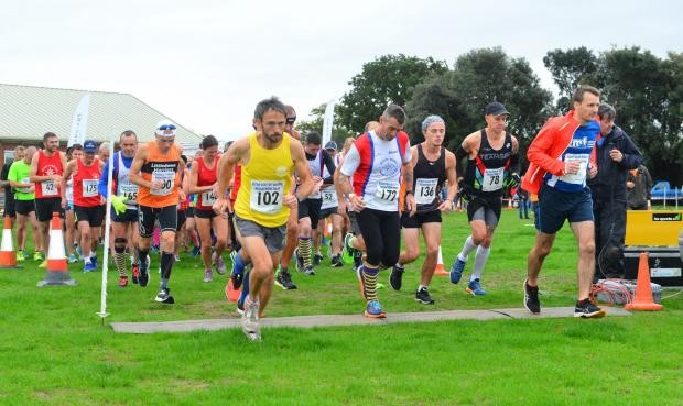 The 62nd Annual Isle of Wight Marathon was won by Gary Marshall his first race ever