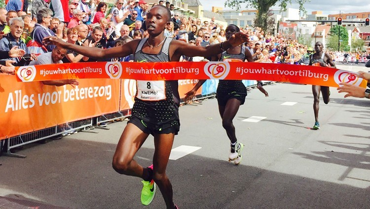 Kenyan Rodgers Kwemoi wins CZ Tilburg Ten while Galen Rupp finishes third