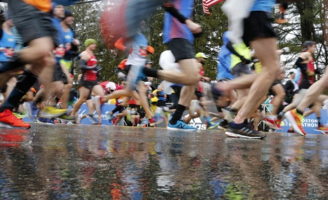 The Weather can be a challenge for Runners at the Boston Marathon and not just this year