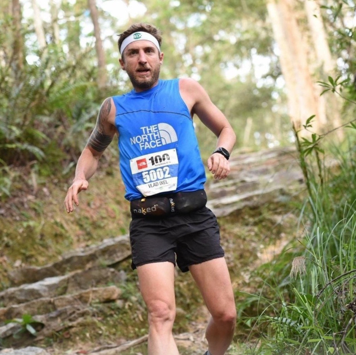 Vlad Ixel traded his alcohol and cigarette addiction for an addiction to trail running