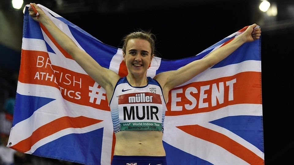 Laura Muir breaks the British indoor mile record that has stood for 31 years
