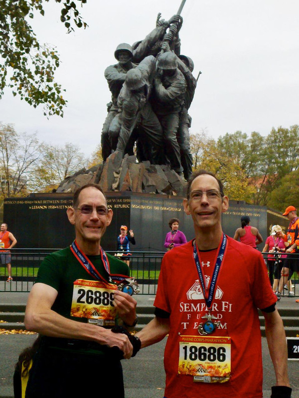 Despite Injury, Navy Veteran Michael Frank Still Plans To Cross the Finish Line at the Marine Corps Marathon