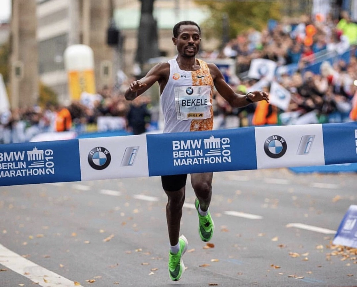 Kenenisa Bekele wins Berlin Marathon just missed breaking the world record by two seconds