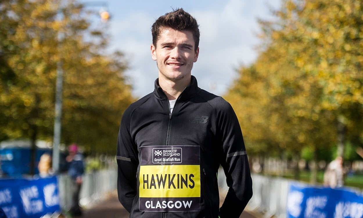 Callum Hawkins will make his return to marathon racing at the Fukuoka Marathon