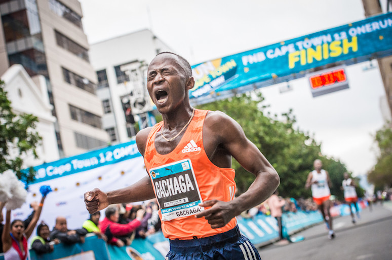 Kenya's Morris Gachaga hopes his return to the southern Chinese city of Xiamen January 5 will give him the marathon title