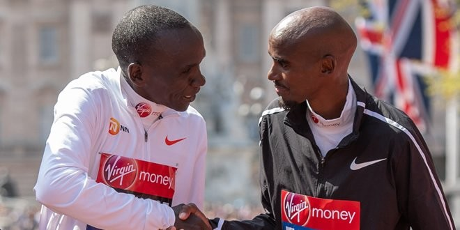 "Mo Farah describes Eliud Kipchoge quest to run a sub-two-hour marathon as ""mind blowing"""