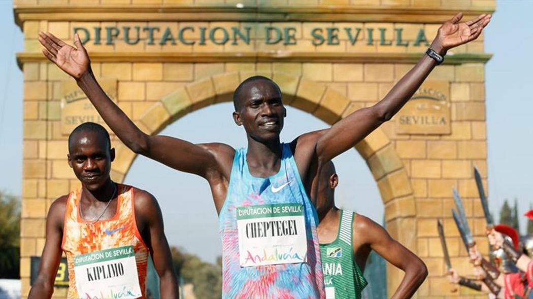 Ugandan Joshua Cheptegei is one of the stars at the San Silvestre Vallecana 10K
