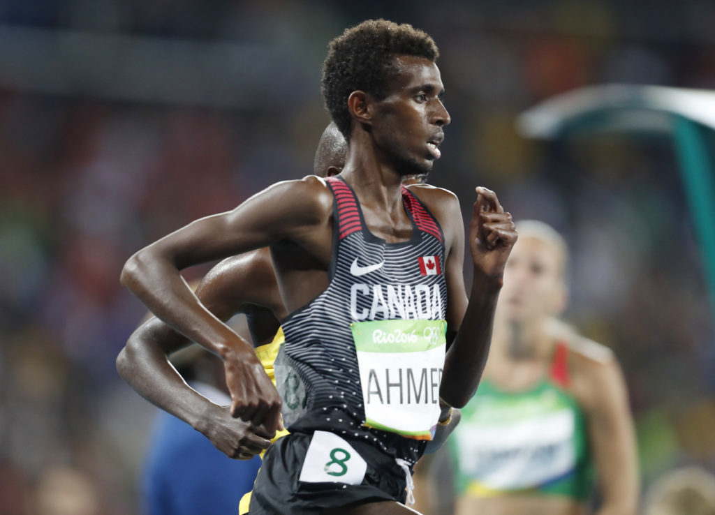 Five-time Canadian record-holder Mohammed Ahmed and NCAA champion Justyn Knight are going head-to-head this Sunday in the Pre Classic two-mile