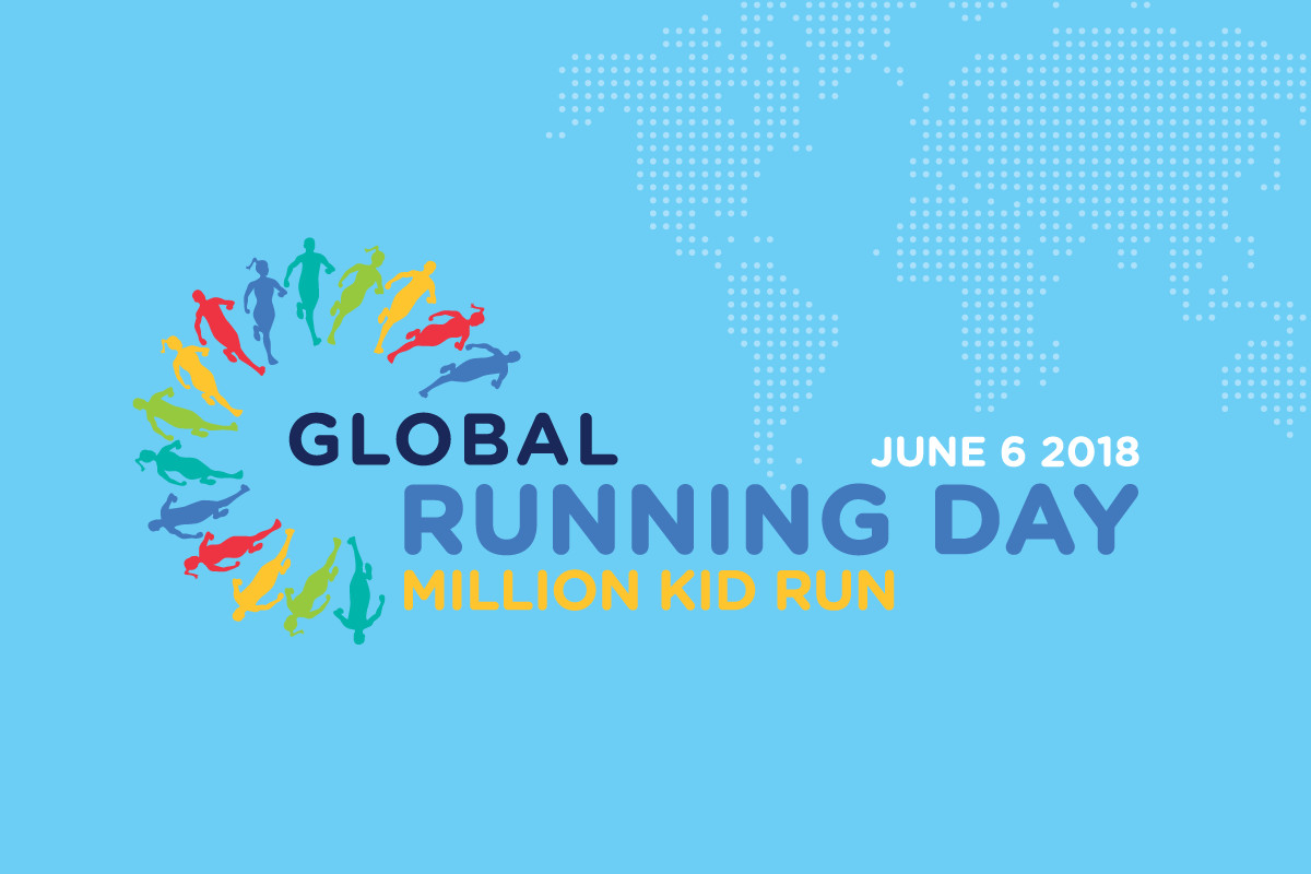 June 6th is Global Running Day, It doesn't matter how fast or how far you go, taking part is what is important