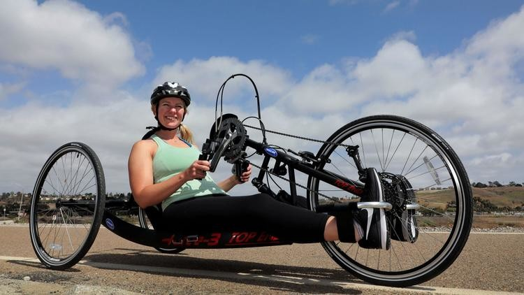 Anna Hackenberg will race in  Rock 'n' Roll San Diego Marathon after paralyzing accident