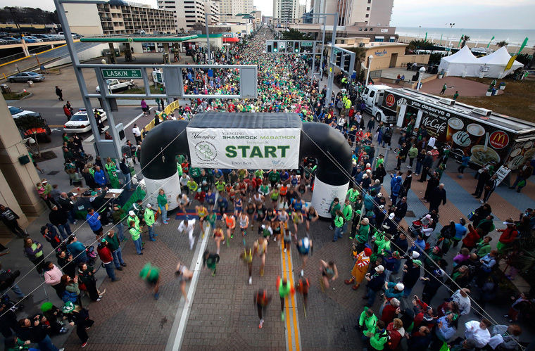 New pace group times for the 2019 Yuengling Shamrock Marathon to help runners qualify for Boston