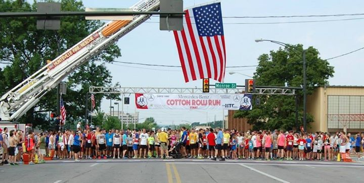 Records were broken at the 40th Annual Cotton Row Run