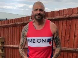 Mark Inman, ex-soldier left with PTSD by Afghanistan violence wants to run 22 half-marathons in 22 days