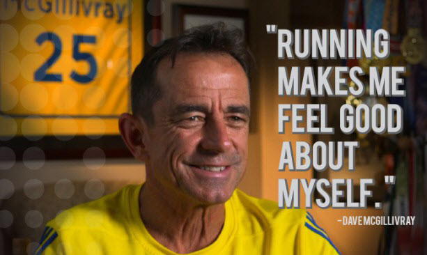 Dave McGillivray who has heart issues says just because you are fit doesn't mean you are healthy