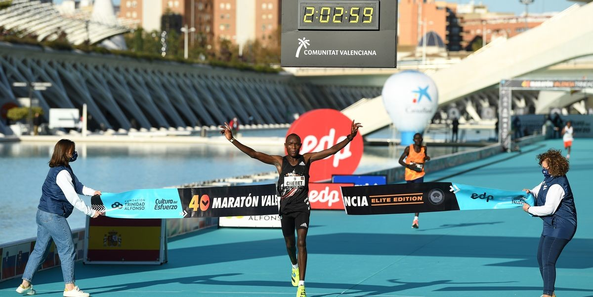 Fresh from winning Valencia Marathon with a course record, Evans Chebet is looking towards the Olympic Games