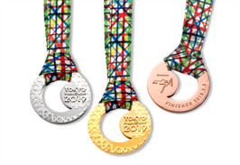 Tanaka Holdings will produce and donate Pure Gold, Pure Silver, and Pure Bronze Medals to the top three men and women finishers at the Tokyo Marathon valued over $100,000US