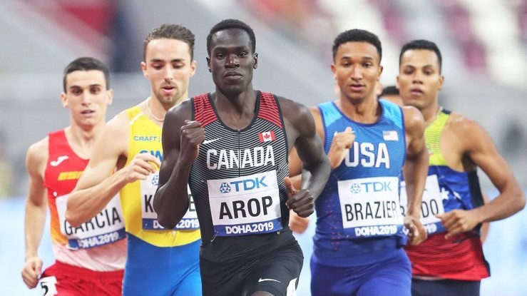 Canadian and world championship finalist Marco Arop, has made the decision to leave Mississippi State to go pro
