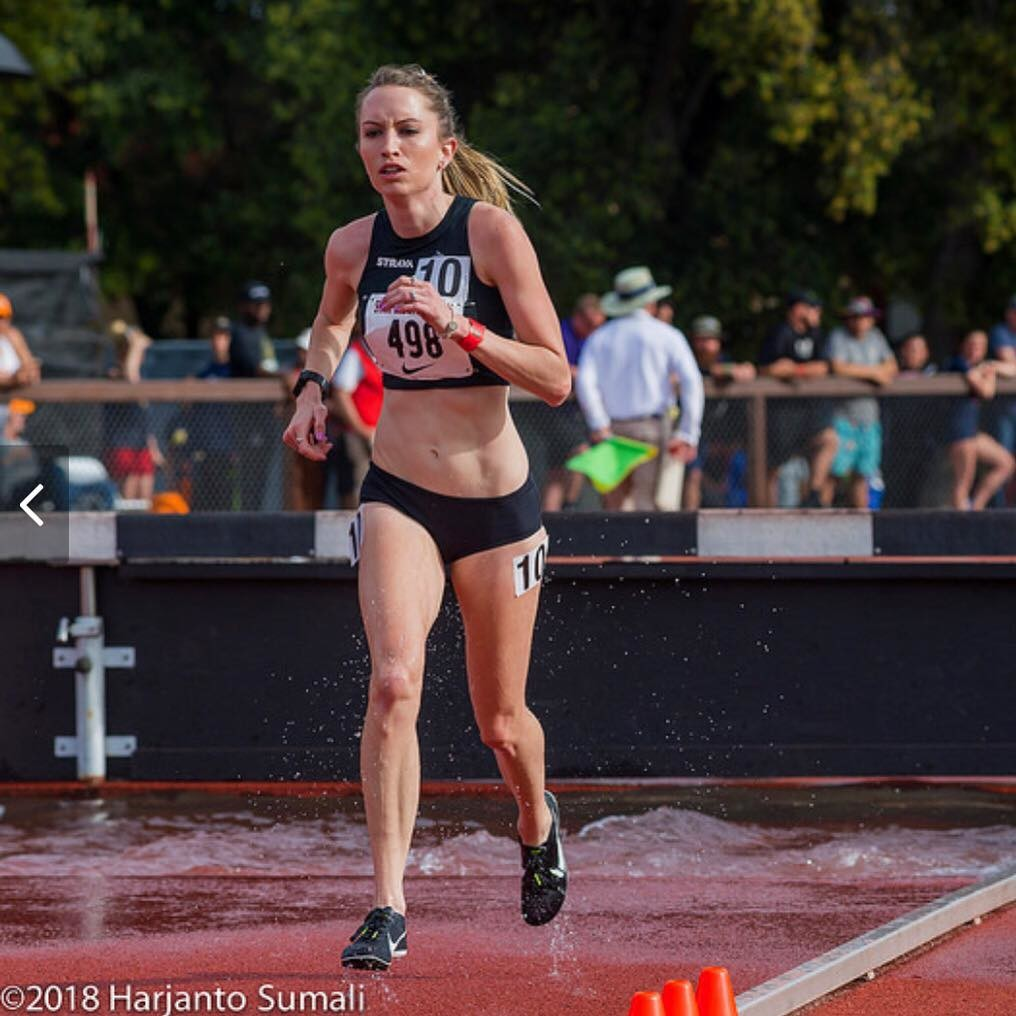 Global Run Challenge Profile: Courtney Heiner started off as a 300m hurdler and became a 1500m National Champion