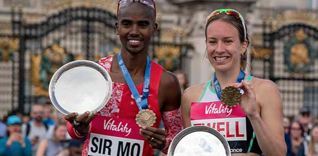 London 10,000: Britons Mo Farah and Steph Twell win men's and women's titles