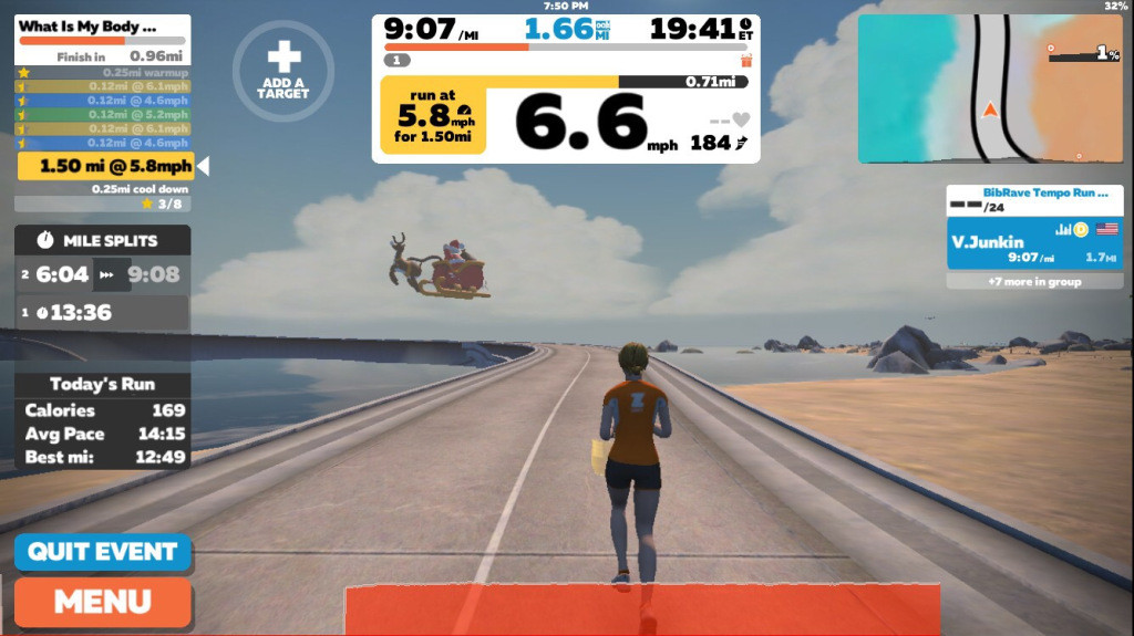 A new virtual training program is connecting treadmill runners from around the world to help runners get ready for their next marathon