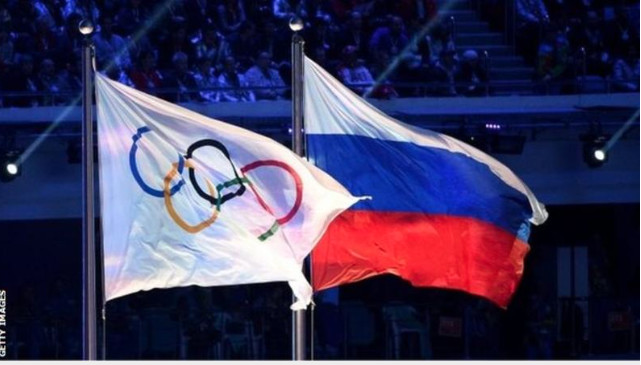 Russia banned from competing in the 2020 Olympics and 2022 World Cup by the World Anti-Doping Agency