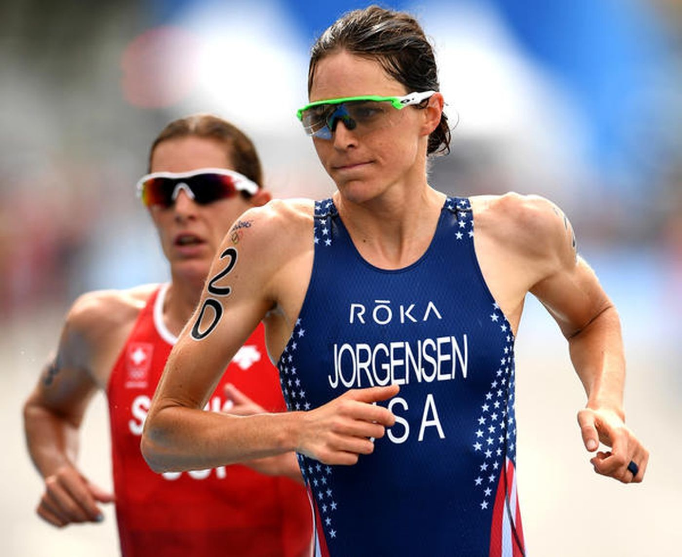 Olympic Triathlon Gold Medalist Gwen Jorgensen is making her half-marathon debut May 6