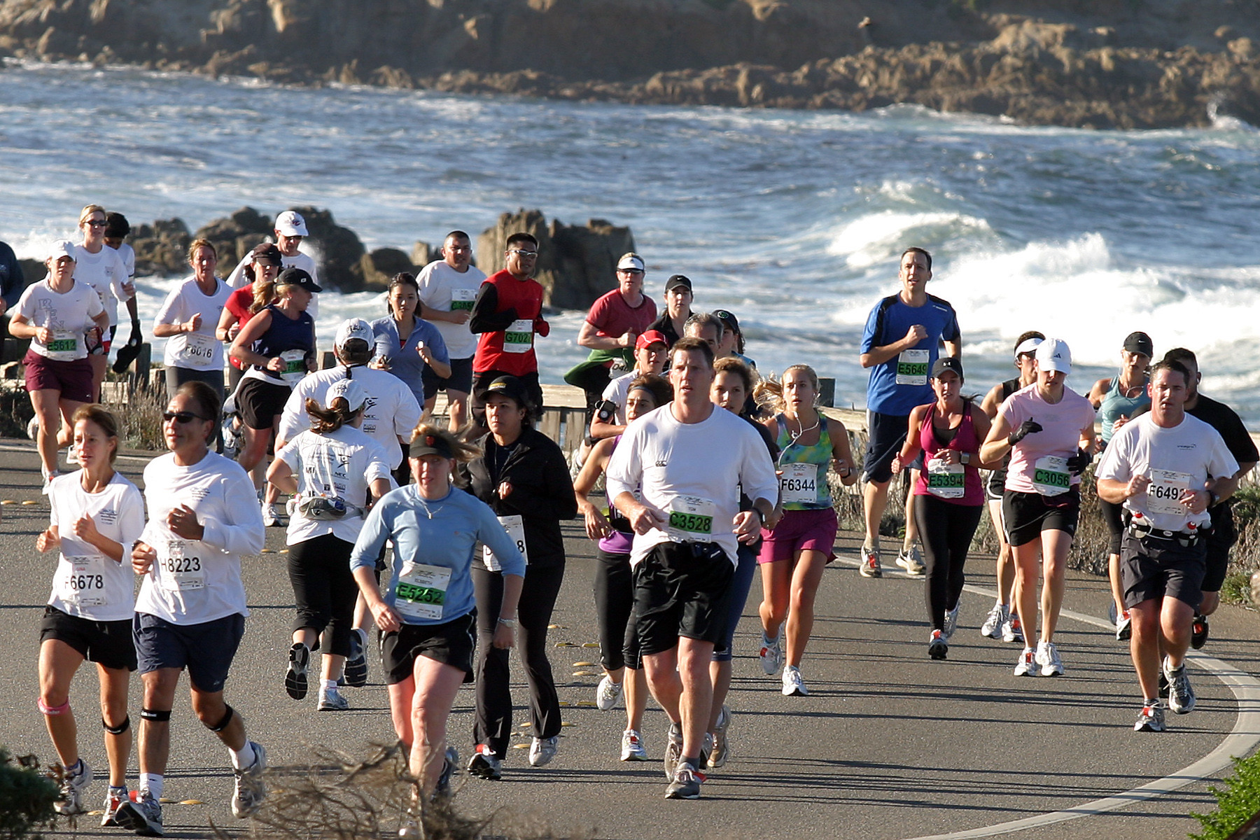 After last year's cancellation, the big news heading into the weekend of the Monterey Bay Half Marathon is that the race is on for Sunday