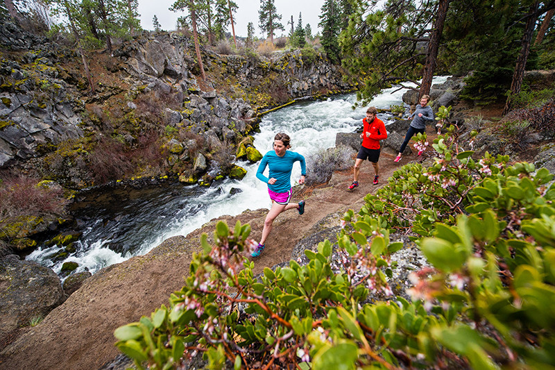 Bend Oregon ranks with any Town in America as a Trail running destination