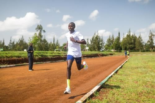 Geoffrey Kamworor said that he is aiming to win gold at the World Championships in Doha, Qatar in October